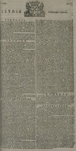 Leydse Courant 1734-03-22