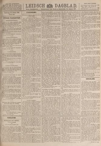 Leidsch Dagblad 1919-01-16