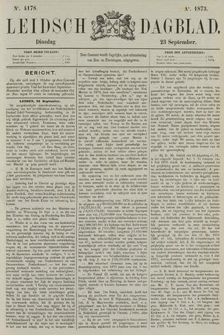 Leidsch Dagblad 1873-09-23