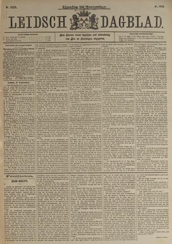 Leidsch Dagblad 1896-09-22