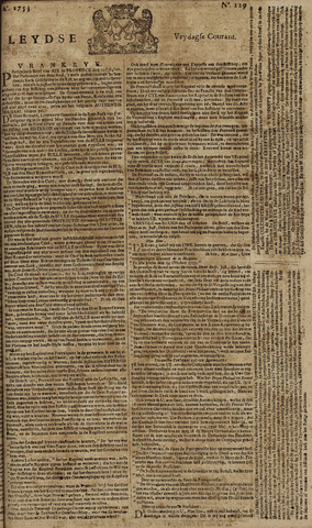 Leydse Courant 1753-10-26