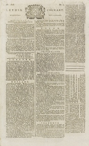 Leydse Courant 1818-01-21