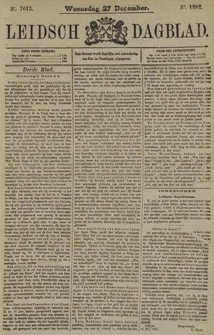 Leidsch Dagblad 1882-12-27