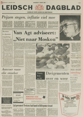 Leidsch Dagblad 1980-01-12