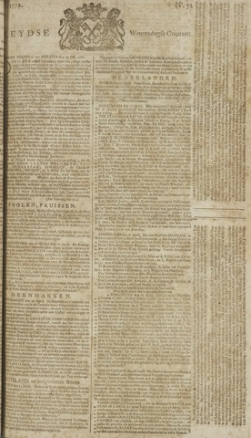 Leydse Courant 1772-04-29