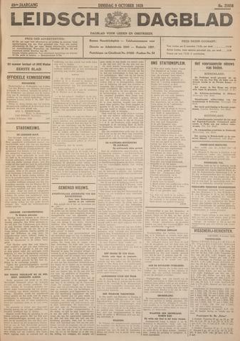 Leidsch Dagblad 1928-10-09