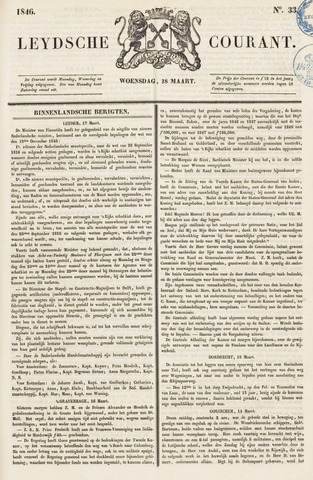 Leydse Courant 1846-03-18