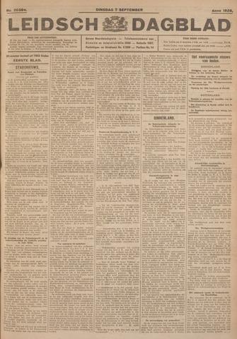 Leidsch Dagblad 1926-09-07