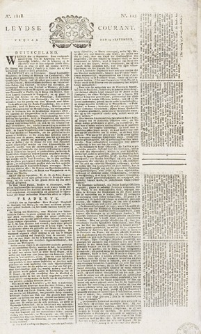 Leydse Courant 1818-09-25