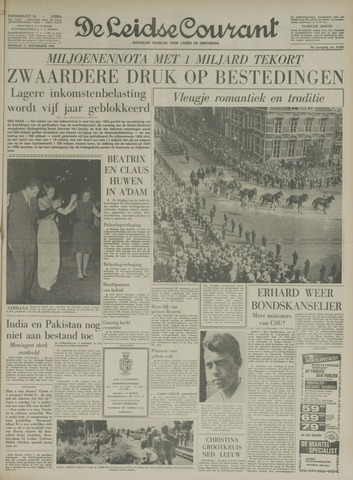 Leidse Courant 1965-09-21