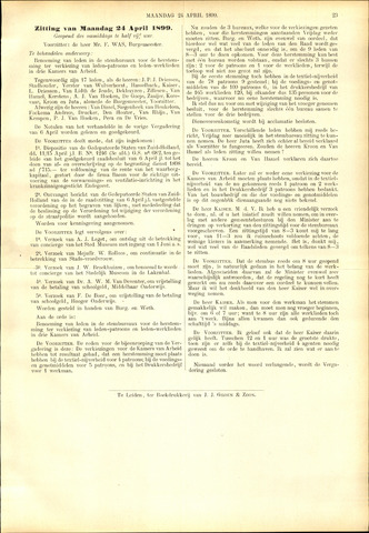 Handelingen van de Raad 1899-04-24