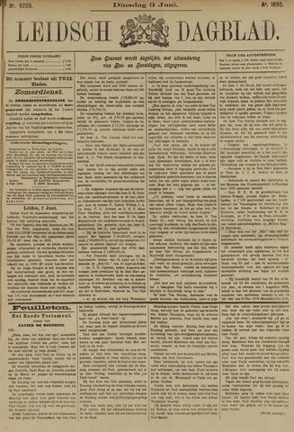 Leidsch Dagblad 1890-06-03