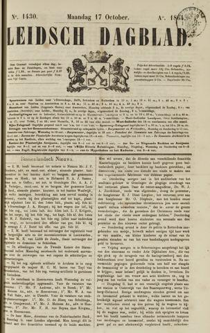 Leidsch Dagblad 1864-10-17