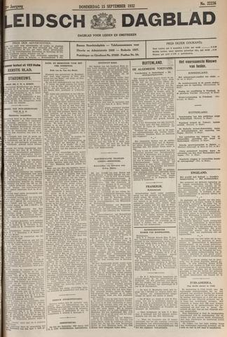 Leidsch Dagblad 1932-09-15