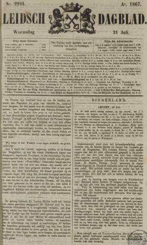 Leidsch Dagblad 1867-07-31