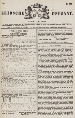 Leydse Courant 1884-12-23