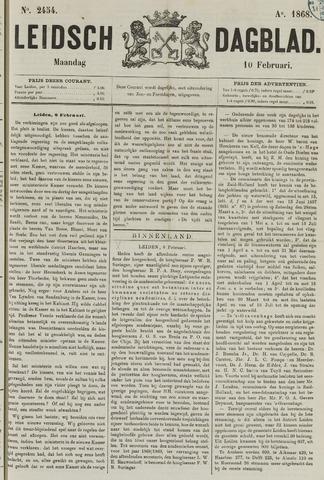 Leidsch Dagblad 1868-02-10
