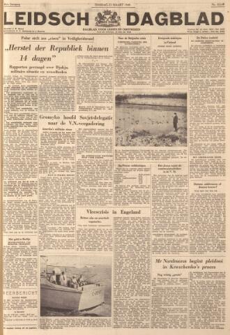 Leidsch Dagblad 1949-03-22