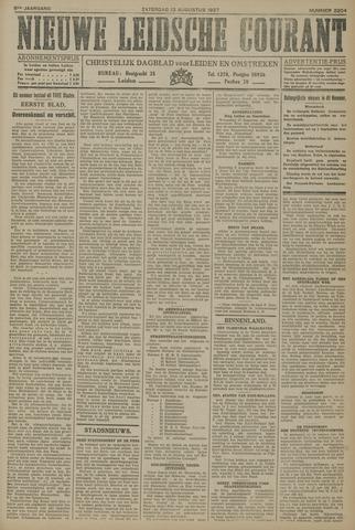 Nieuwe Leidsche Courant 1927-08-13