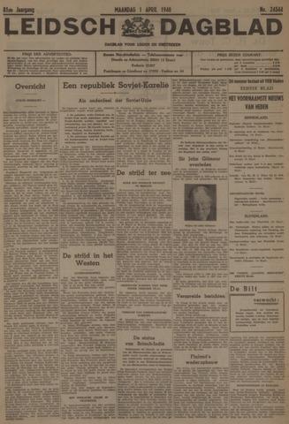 Leidsch Dagblad 1940-04-01