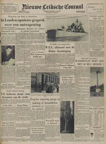 Nieuwe Leidsche Courant 1957-03-19
