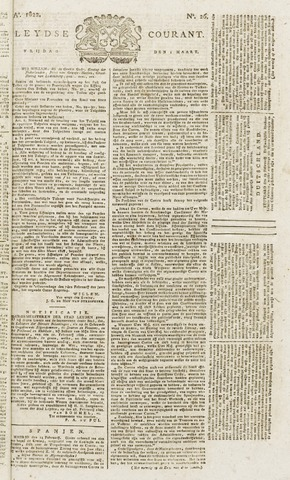 Leydse Courant 1822-03-01