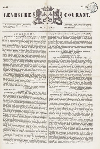 Leydse Courant 1865-05-05