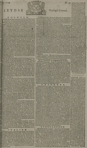 Leydse Courant 1749-08-08
