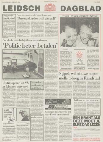 Leidsch Dagblad 1988-02-18