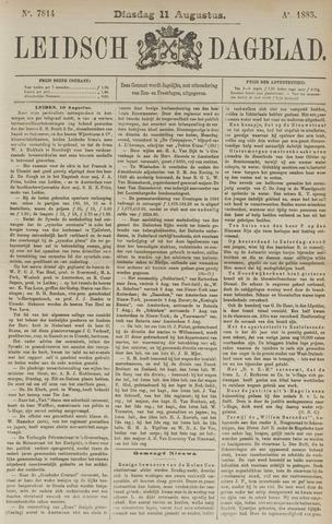 Leidsch Dagblad 1885-08-11