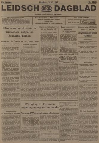 Leidsch Dagblad 1940-05-20