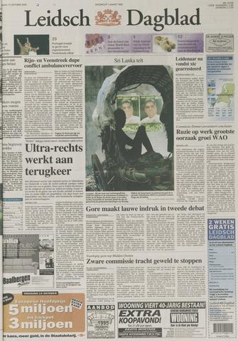 Leidsch Dagblad 2000-10-12