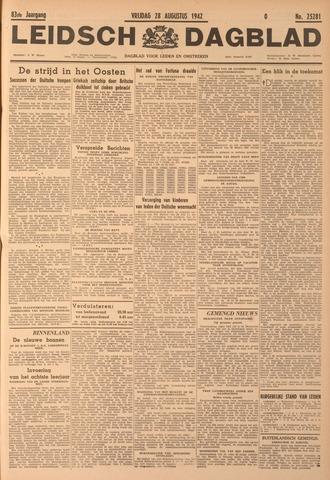 Leidsch Dagblad 1942-08-28