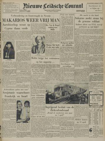 Nieuwe Leidsche Courant 1957-03-29