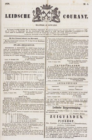 Leydse Courant 1876-01-10