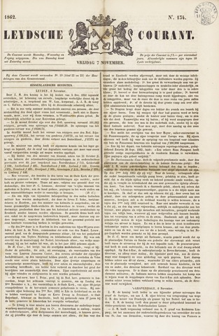 Leydse Courant 1862-11-07