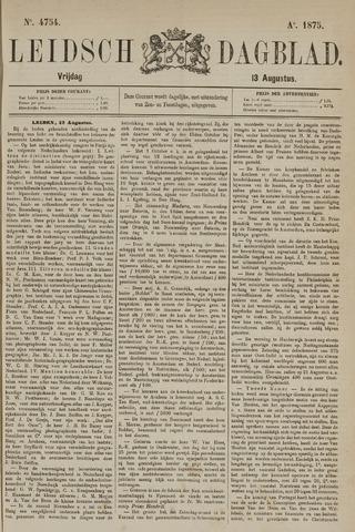 Leidsch Dagblad 1875-08-13