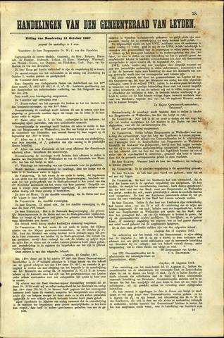 Handelingen van de Raad 1867-10-31