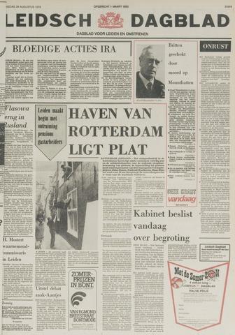 Leidsch Dagblad 1979-08-28