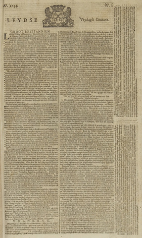 Leydse Courant 1754-01-04