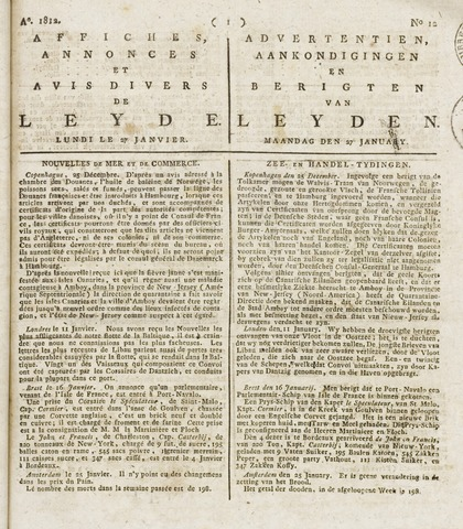 Leydse Courant 1812-01-27