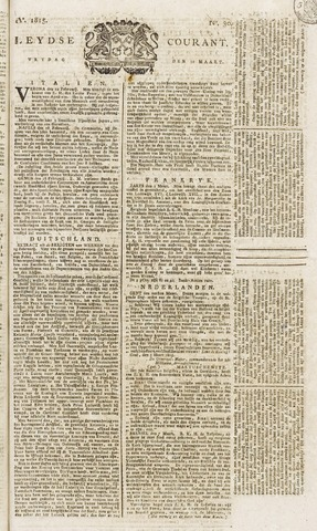 Leydse Courant 1815-03-10
