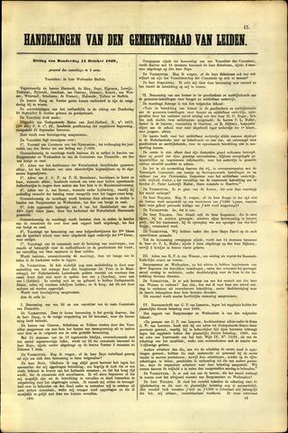 Handelingen van de Raad 1869-10-14