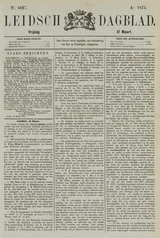 Leidsch Dagblad 1875-03-12