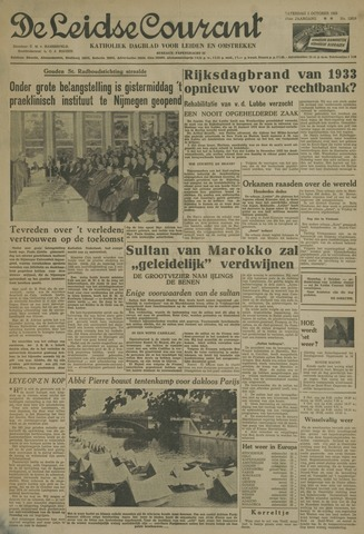 Leidse Courant 1955-10-01
