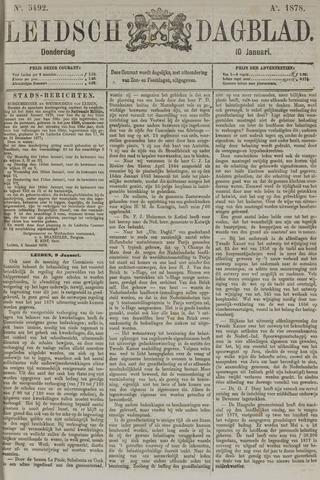 Leidsch Dagblad 1878-01-10