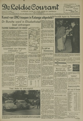 Leidse Courant 1960-08-05