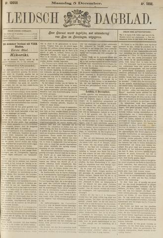 Leidsch Dagblad 1892-12-05