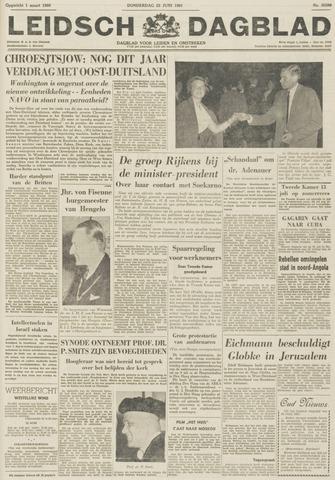 Leidsch Dagblad 1961-06-22