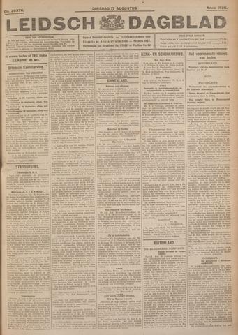 Leidsch Dagblad 1926-08-17